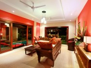 lla Bukit Lemongan living room