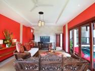 Villa Bukit Lemongan living room